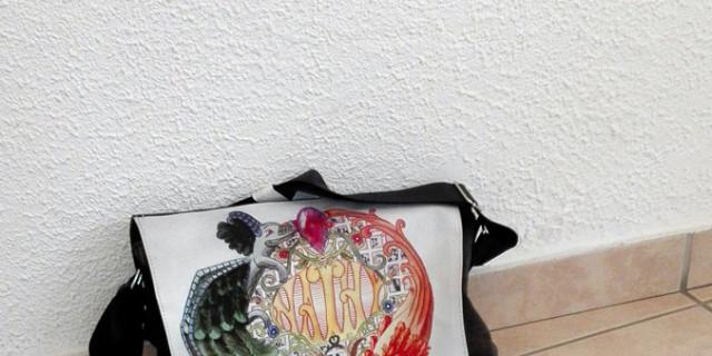 Nathyfantasy - Sac portefeuille avec rabats 80549