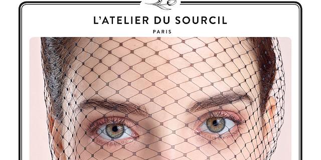 onepicagency - Publicité produit de beauté sourcil, visage mannequin -L'atelier du sourcil - Page promotionnel 74593