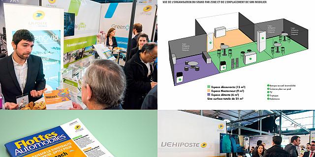 Studio NORDSUD Création - Stand pour La Poste solutions business 75479