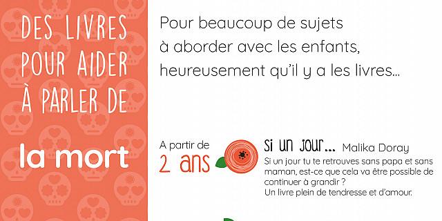 Pigment des Belettes (Graines de SOL) - Affiche Conseil de lecture pour aider à parler de la mort 80875