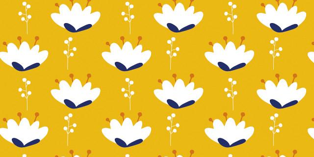 Pigment des Belettes (Graines de SOL) - Motifs floraux pour design textile 81098