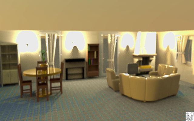 Rodproduction - Image réaliste 3D d'une intérieur d'habitation 67895