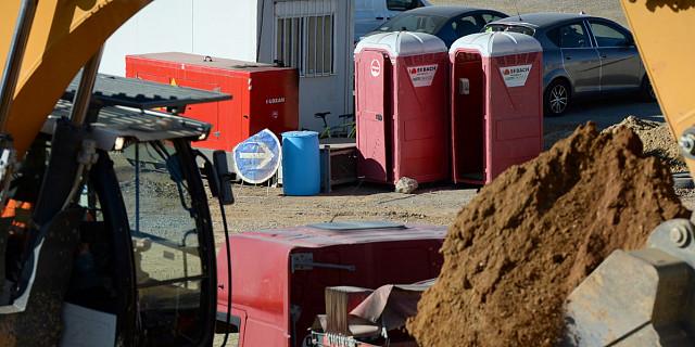 SEBACH France - cabine sanitaire mobile chantier 84133