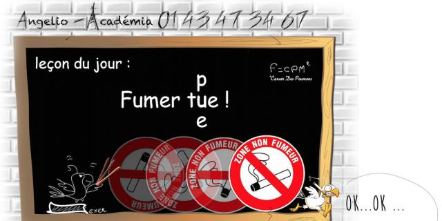 Séverine Exer - Affiche pour locaux non fumeur 61385