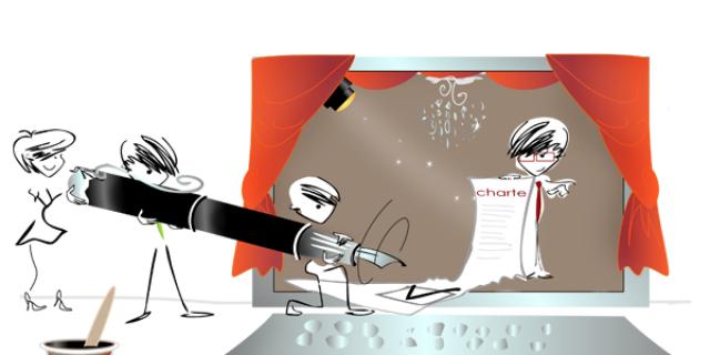 Séverine Exer - Illustration pour site de communauté du Crédit Agricole SA 61605
