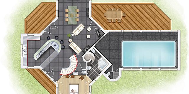 Studio Delétraz - Aménagement d'après plan 82722