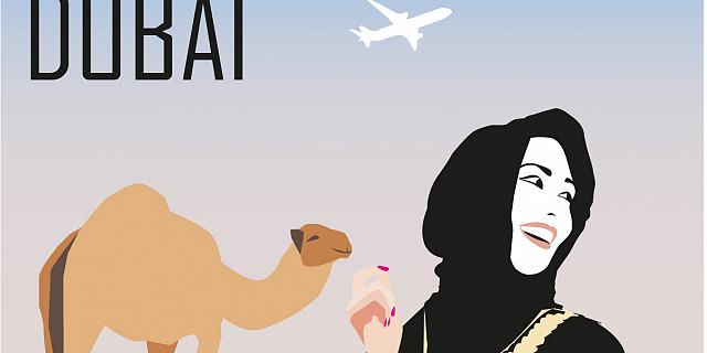 Suzanne Bolze - Invitation à Dubaï 82040