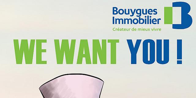 Tyllustre - Illustration kakémono Bouygues 82545