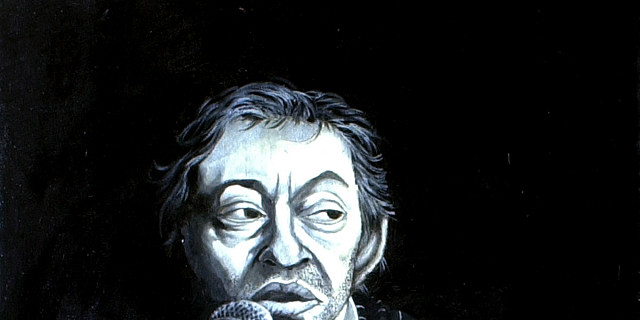 Virgil Malara - Portrait de Serge Gainsbourg 86085